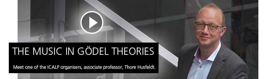 The Music in Gödel Theories - Meet one of the ICALP organisers, associate professor, Thore Husfeldt.