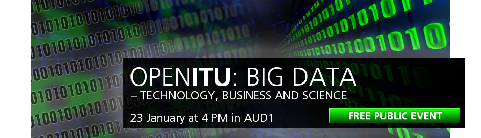 OpenITU 23 january 4pm Big Data