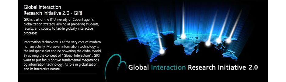 Global Interaction Research Initiative 2.0